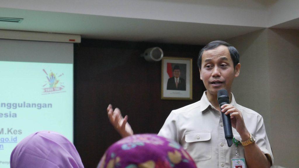 Dr. Anung Sugihantono, Dirjen Pencegahan dan Pengendalian Penyakit Kemenkes RI. dokpri