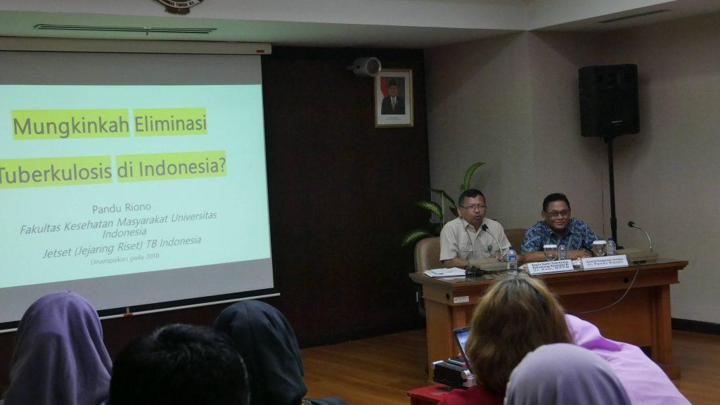 dr. Pandu Riono, Komisi Ahli TB (dok. pri)