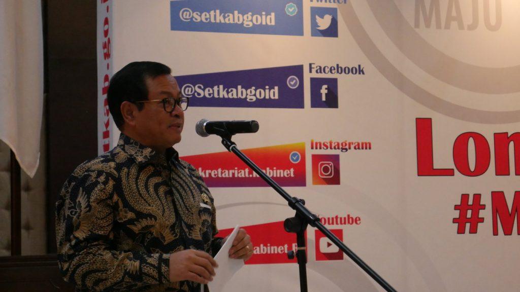 Bapak Pramono Anung, Menuju Indonesia Maju Dengan Lomba Sosmed Dari Setkab