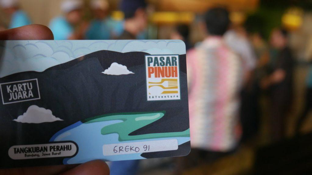Kartu Wisata Kuliner Bandung Pasar Pinuh