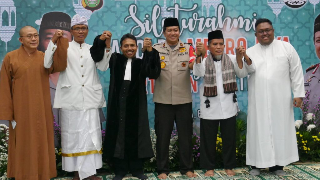 Tokoh Lintas Agama bersama Wakapolda