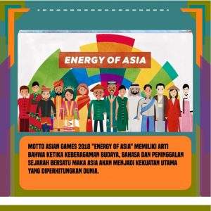 Asian Games 2018 - Energy Of Asia. Sumber: GDrive