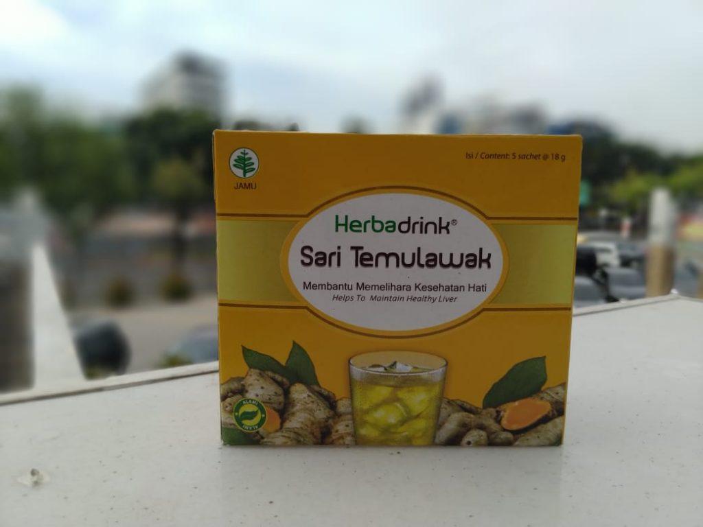 Herbadrink Sari Temulawak Untuk Minuman Kesehatan Setiap Hari