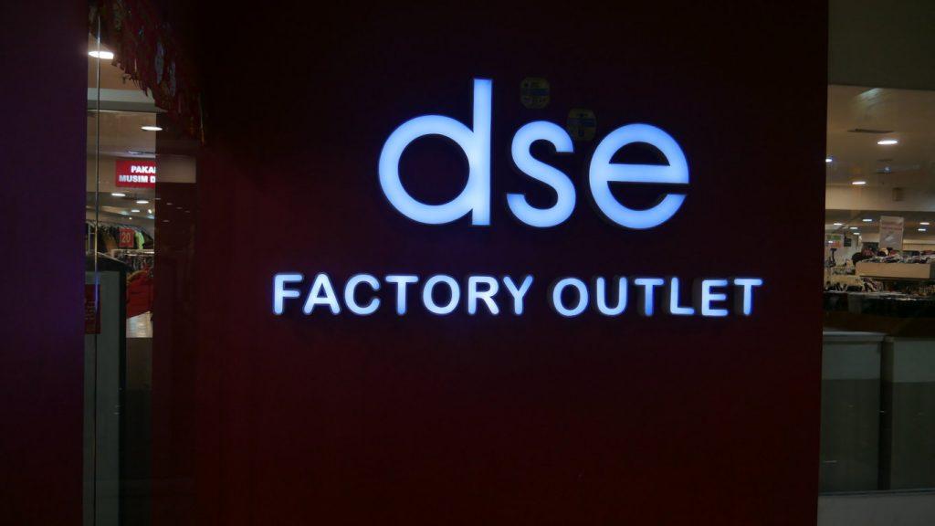 DSE Factory Outlet Jakarta