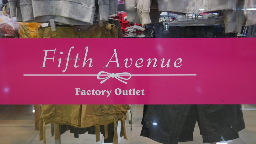 Fifth Avenue Factory Outlet jakarta