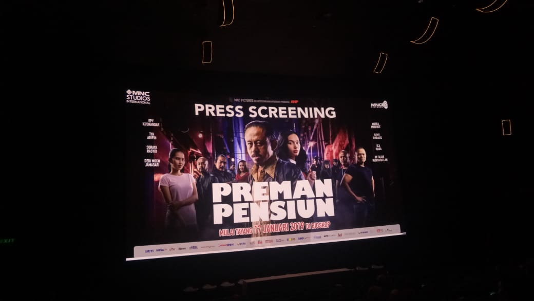 Film Preman Pensiun Tayang Perdana 17 Januari 2019