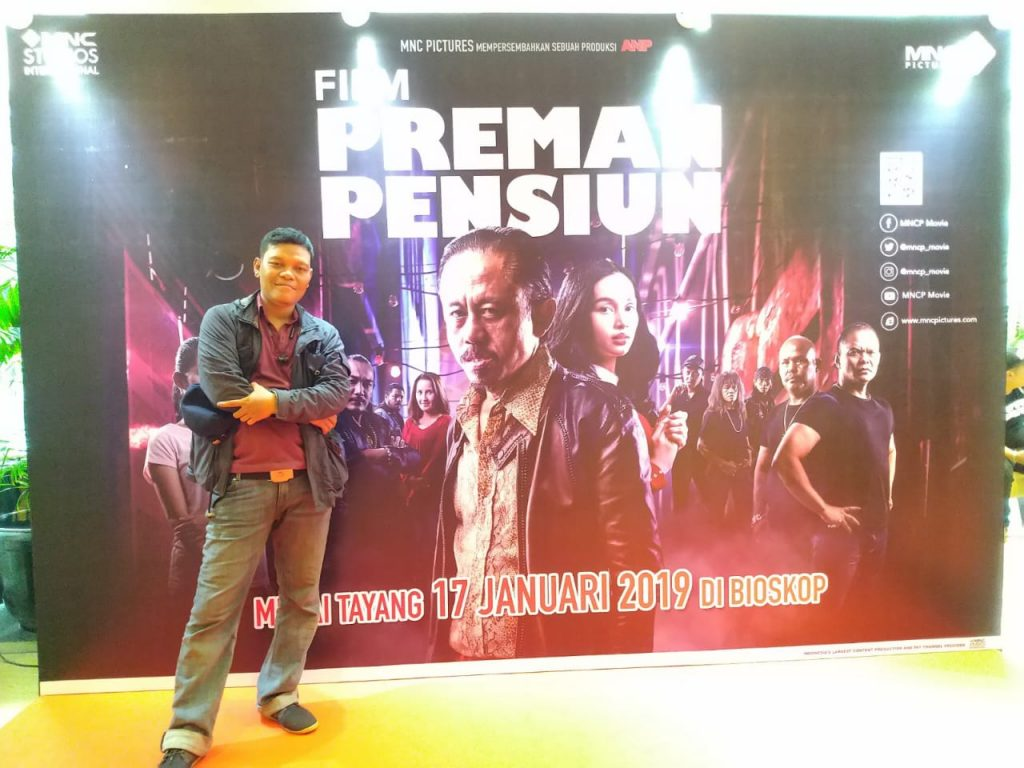 Nonton Press Screening Film Preman Pensiun