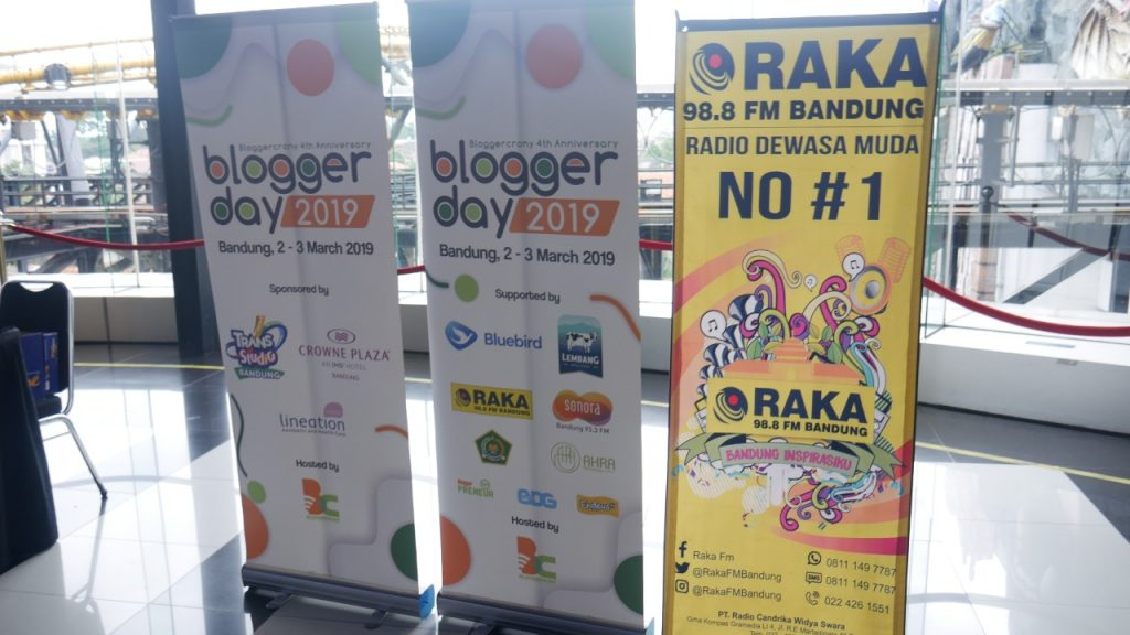 Blogger Day 2019 Trans Studi Bandung