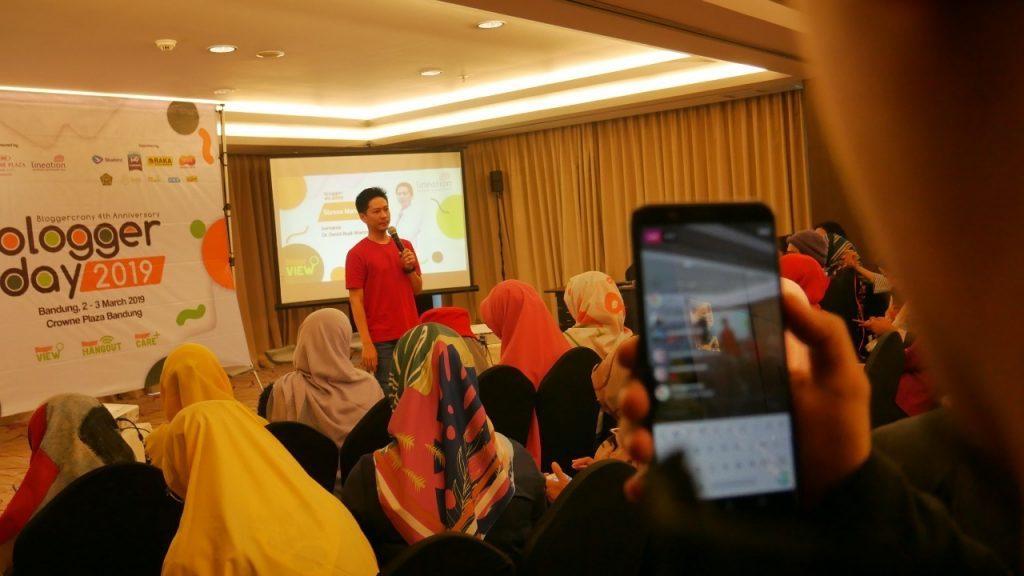 Blogger Day 2019 - dr. David dari Lineation