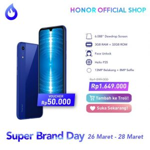 Promo Honor 8A Indonesia