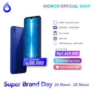 Promo Honor 8A Indonesia
