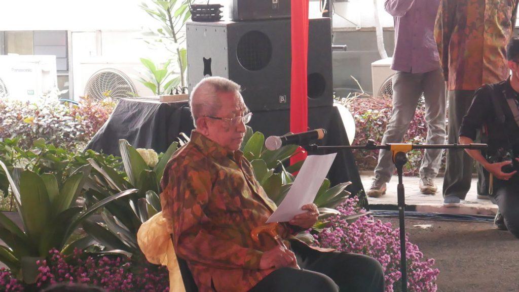 Prof. Dr. Sjarifuddin Baharsjah Menteri Pertanian periode 1993-1998 | Museum Pertanian Bogor Menjadi Wisata Edukasi