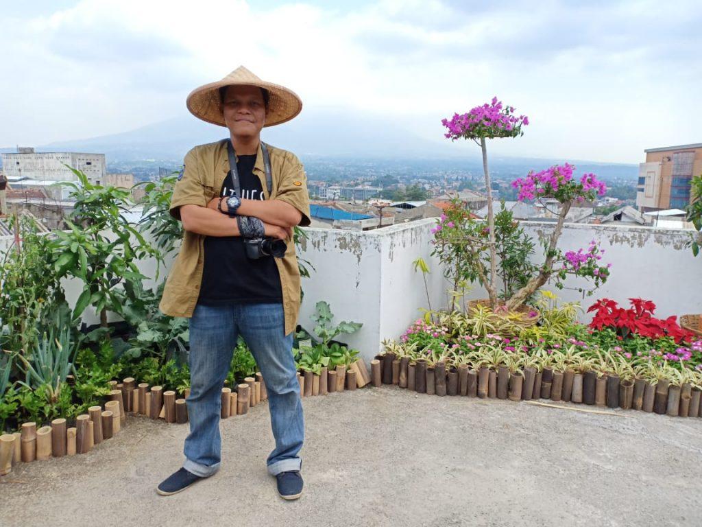 Saya di Roof Top Museum Pertanian Bogor Menjadi Wisata Edukasi