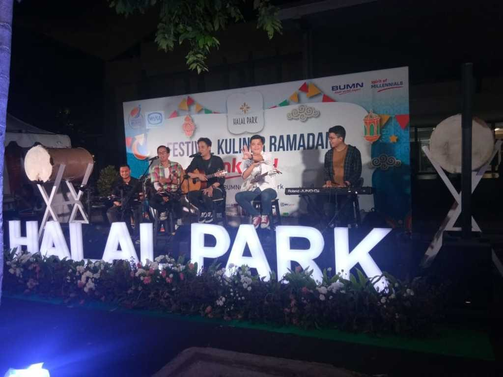 Halal Park Senayan - Stage