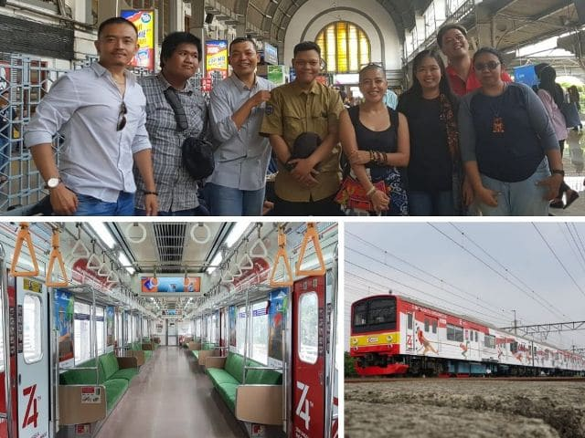 Kemeriahan HUT RI ke-74 Bersama PT KCI - Bersama Dengan Teman Blogger