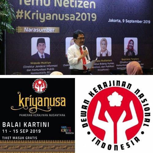 Widodo Muktiyo - Kriyanusa 2019 Majukan Karya Anak bangsa