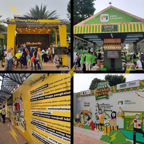Festival Gerakan Warung Nasional (FGWN) - Lapangan Banteng Jakarta