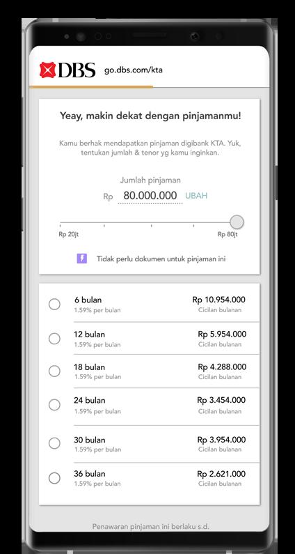 Aplikasi Digibank Via Phone