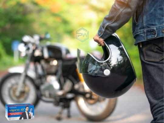 Naik motor tetap menjaga daya tahan tubuh - khasiat Vipro-G