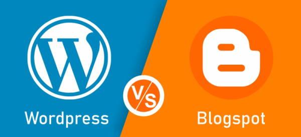 wordpress dan blogspot