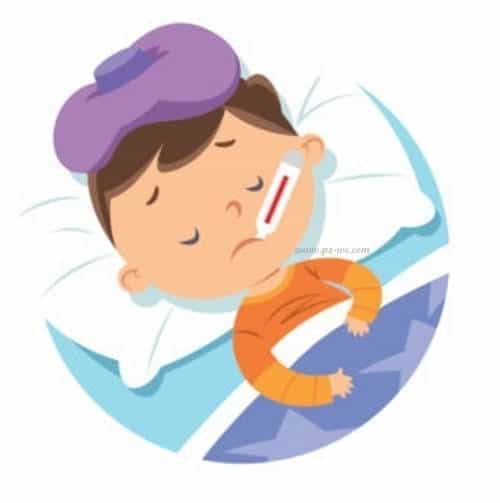 demam bisa terjadi karena anak diare