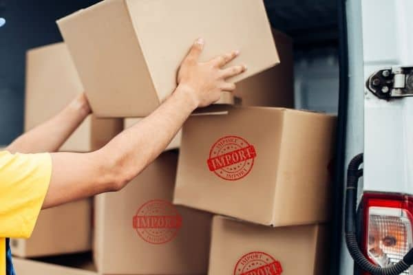 jasa import barang dengan antara logistic