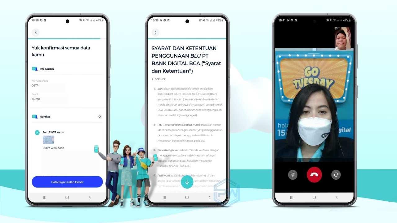 Review Jujur Aplikasi blu, cara mudah mendaftar di aplikasi blu